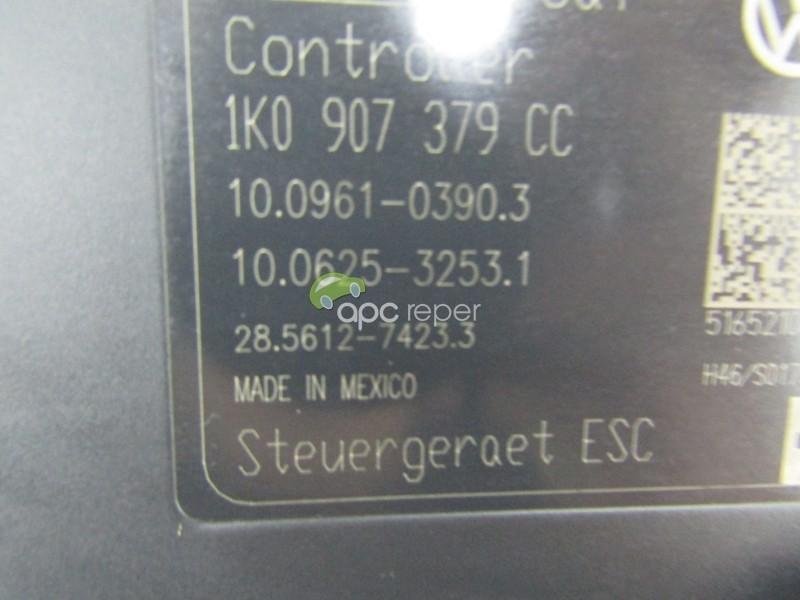 Pompa ABS Originala VW Jetta 5C / Beetle / Scirocco / Passat - Cod: 1K0614517EJ/ 1K0907375CC