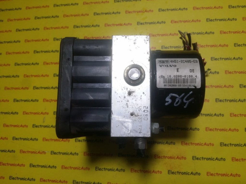 Pompa ABS Volvo V50 S40 30672506A, 4N512c405EB