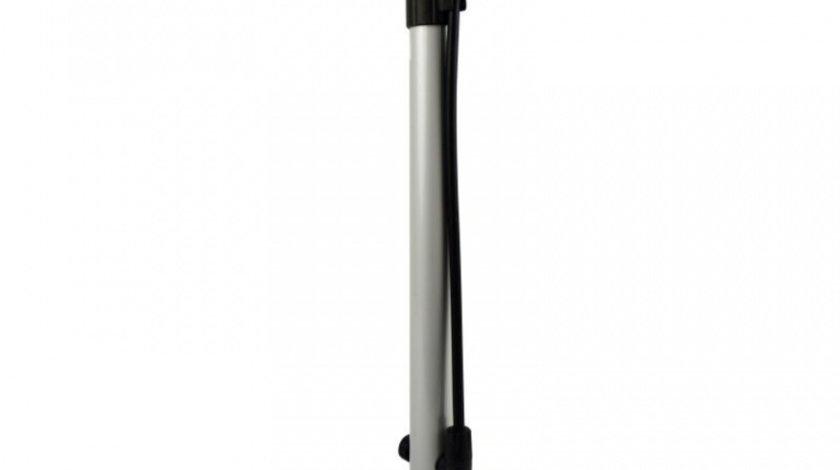 Pompa aer manuala Dresco Compact, furtun 50 cm
