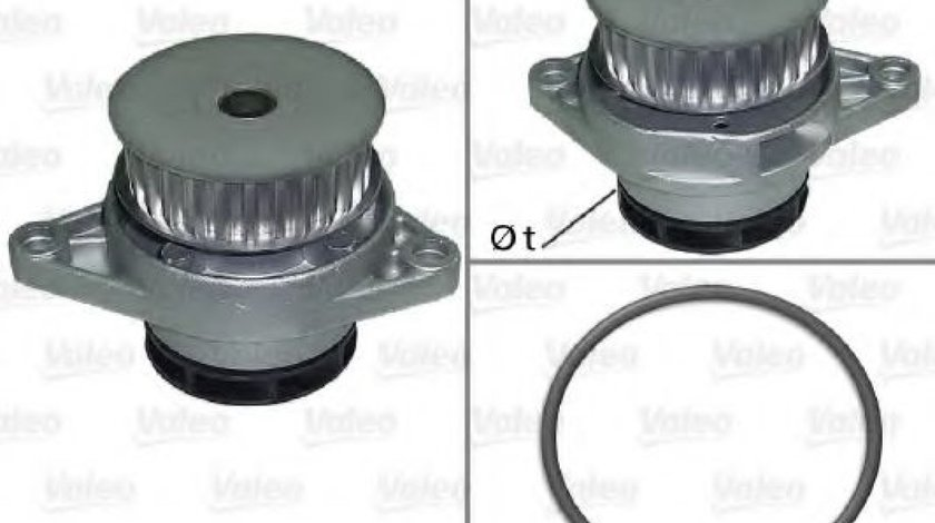 Pompa apa VW BORA Combi (1J6) (1999 - 2005) VALEO 506706 piesa NOUA
