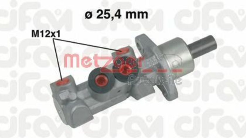 Pompa centrala, frana VW TRANSPORTER IV platou / sasiu (70XD) (1990 - 2003) METZGER 202-451 piesa NOUA