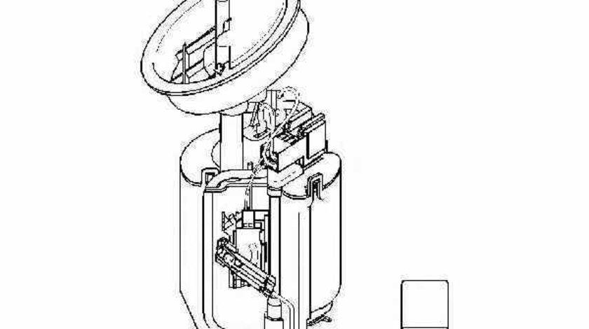 Pompa combustibil MERCEDES-BENZ C-CLASS W203 TOPRAN 401 636