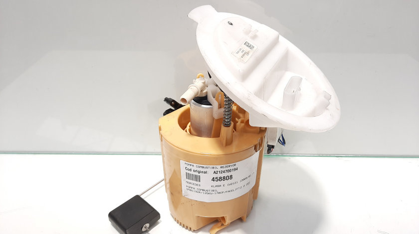 Pompa combustibil rezervor, cod A2124700194 Mercedes Clasa E (W212) 2.2 cdi, OM651924 (id:458808)