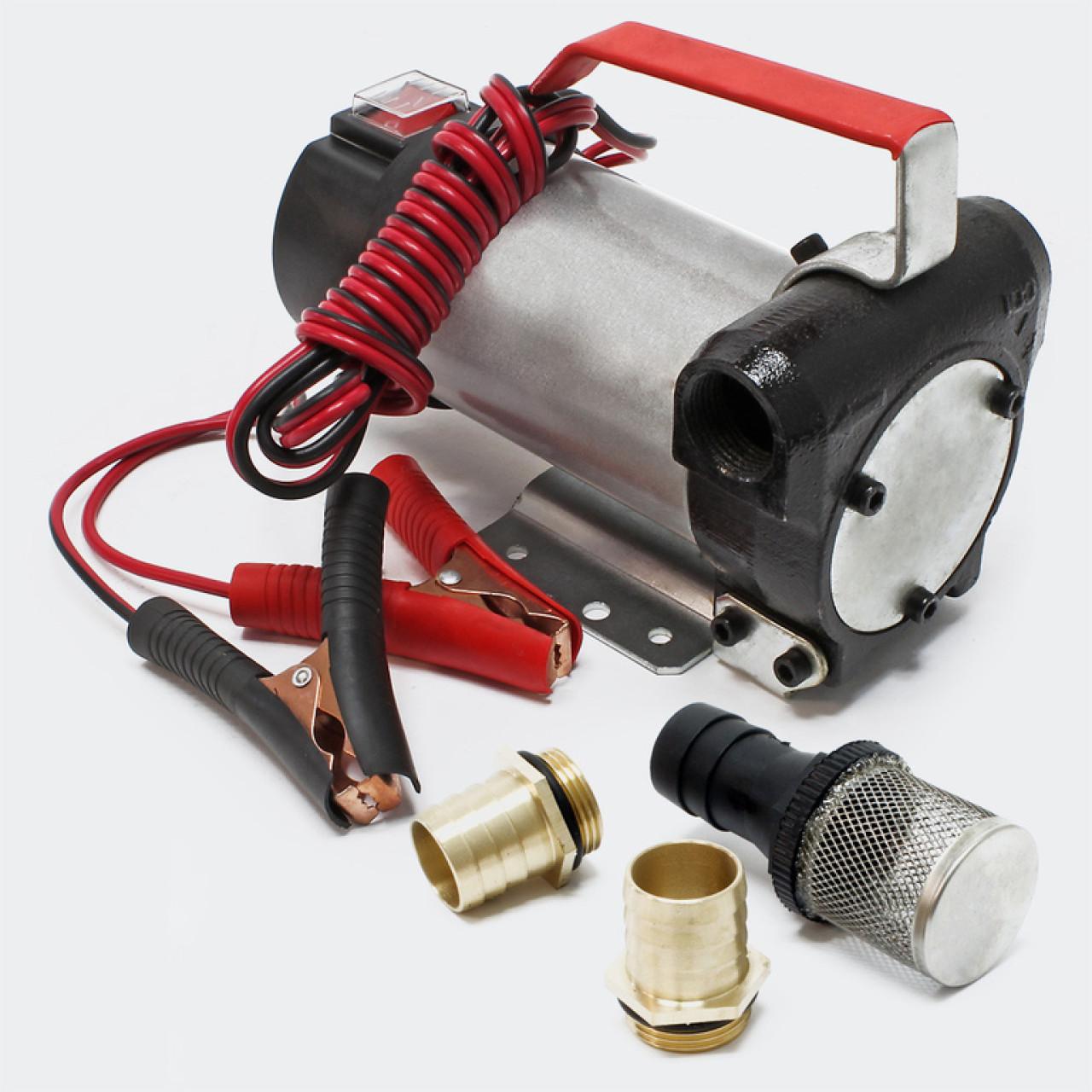 Pompa de transfer lichide la 24v pentru camioane,autobuz,utilaje agricole