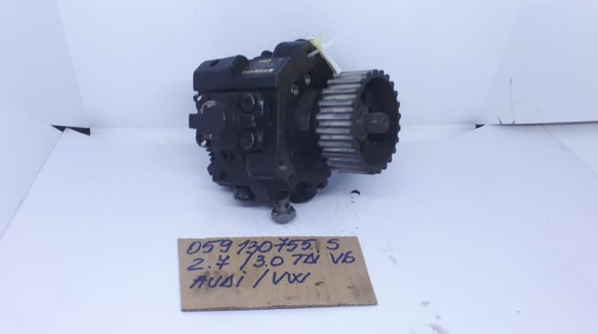 Pompa inalta presiune 059130755S Audi A4/ A6/ A8 / VW Phaeton/ Touareg 2.7 tdi/ 3.0 tdi 2003-2010
