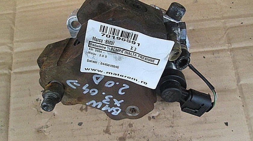 POMPA INALTA PRESIUNE BMW X3 X3 2.0 D - (2004 None)