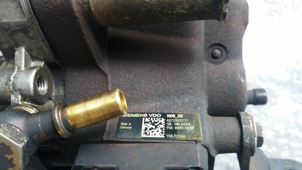 Pompa inalta presiune ford fiesta fusion citroen c1 c2 1.4 tdci a2c20000727 9658176080