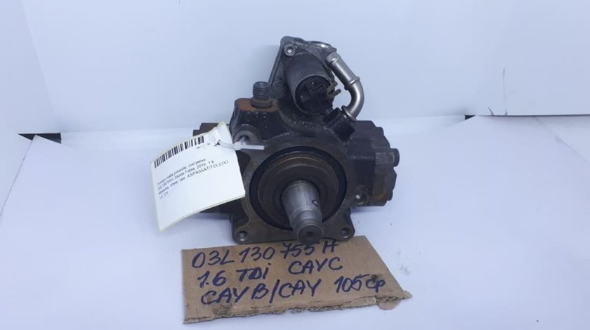 Pompa inalta presiune / injectie VW Golf 6 / Passat B7 1.6 TDI cod: 03L130755H CAYC CAYB CAY