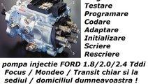 Pompa Injectie FORD Programare Codare Initializare...