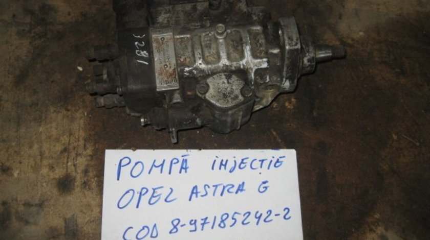 Pompa injectie opel astra g