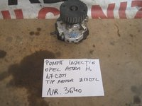 Pompa injectie opel astra h