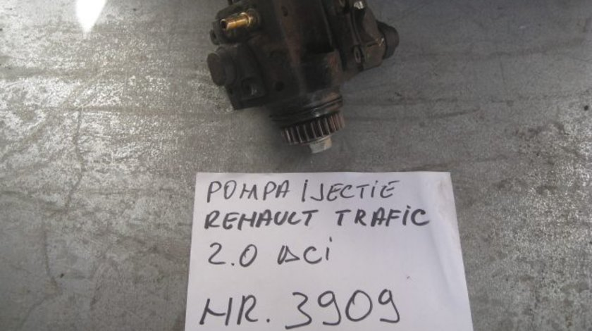 Pompa injectie renault trafic