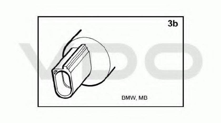 Pompa spalator faruri BMW Seria 3 Cabriolet (E93) (2006 - 2013) VDO 246-086-001-007Z produs NOU