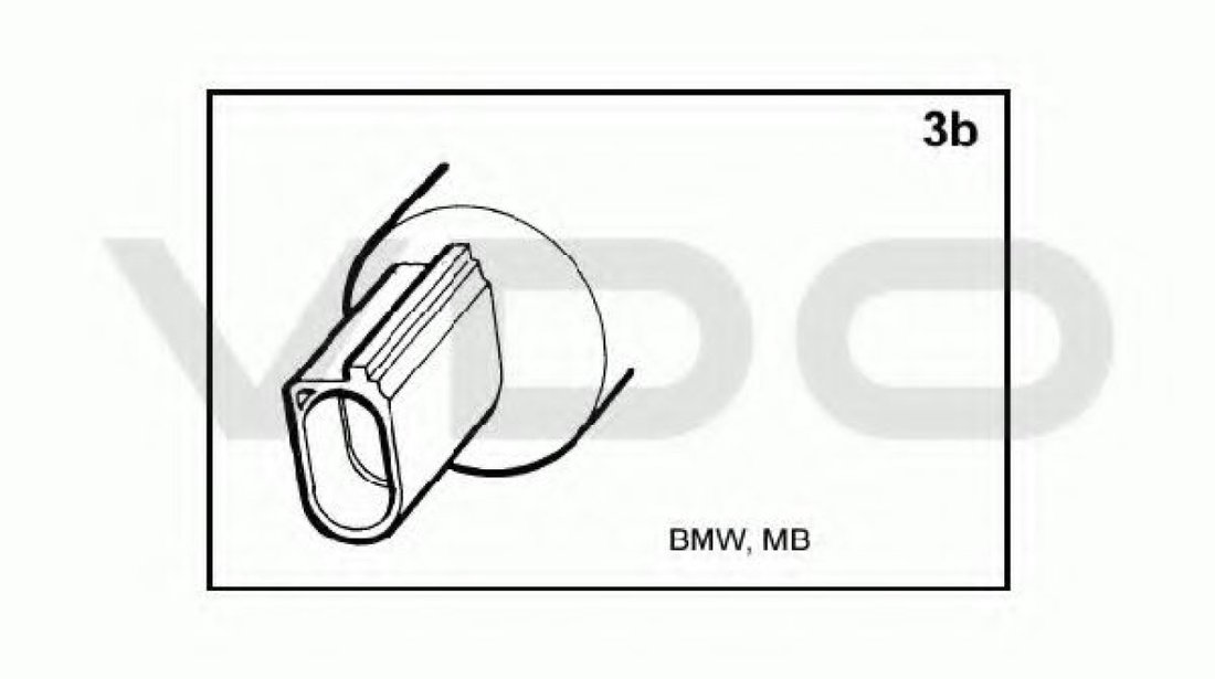 Pompa spalator faruri VW GOLF V (1K1) (2003 - 2009) VDO 246-086-001-007Z - produs NOU