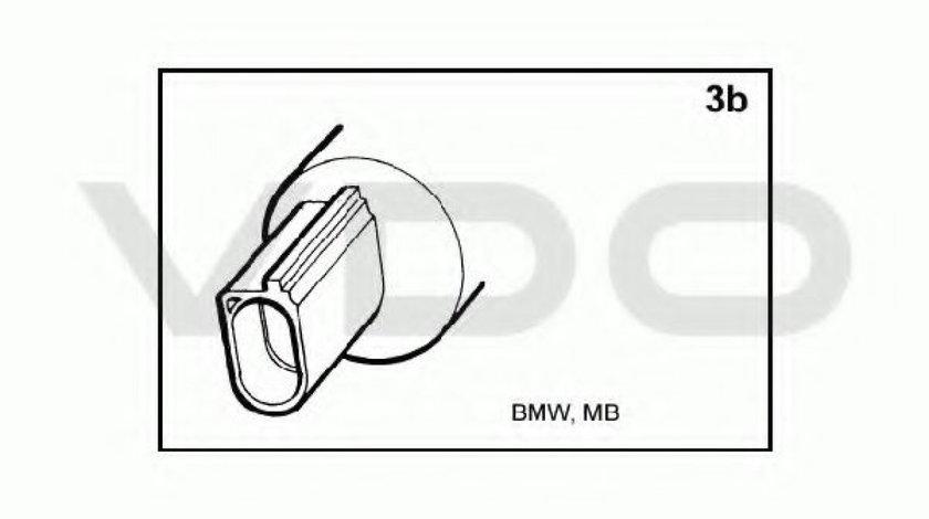 Pompa spalator faruri VW TRANSPORTER V caroserie (7HA, 7HH, 7EA, 7EH) (2003 - 2016) VDO 246-086-001-007Z - produs NOU