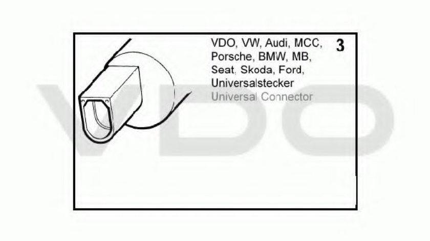 Pompa spalator parbriz SKODA SUPERB II Combi (3T5) (2009 - 2015) VDO 246-083-002-022Z produs NOU