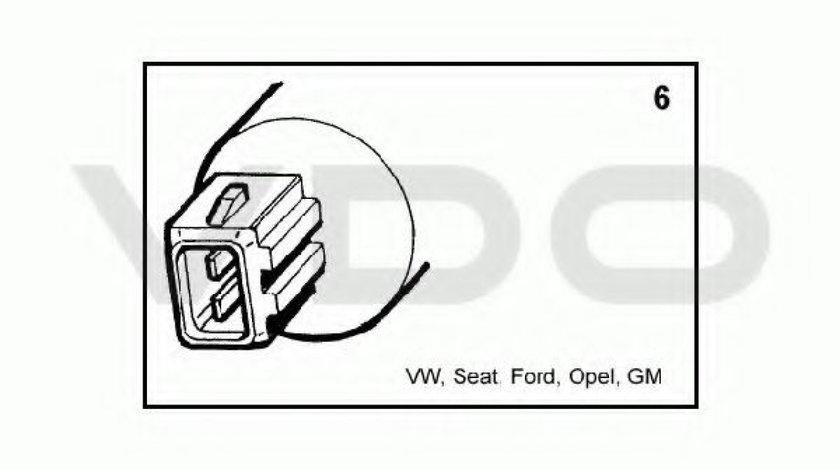Pompa spalator parbriz VW GOLF III (1H1) (1991 - 1998) VDO 246-083-002-014Z produs NOU