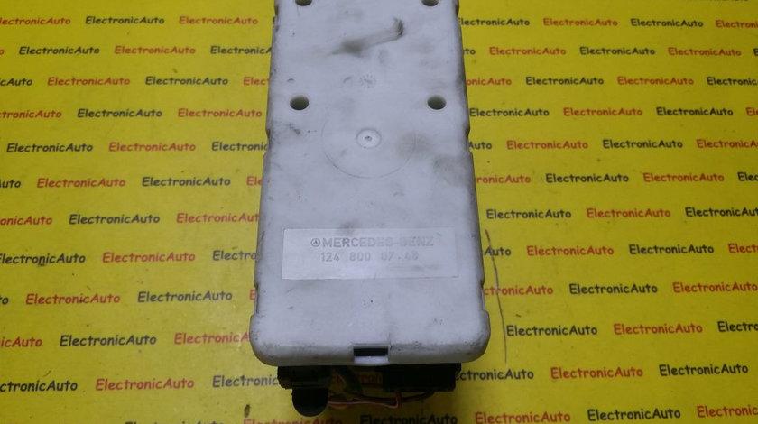 Pompa vacuum inchidere centralizata Mercedes W124 1248000748