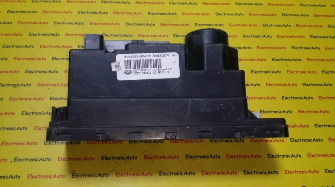 Pompa vacuum inchidere centralizata Mercedes Clasa E W210 A2108002248
