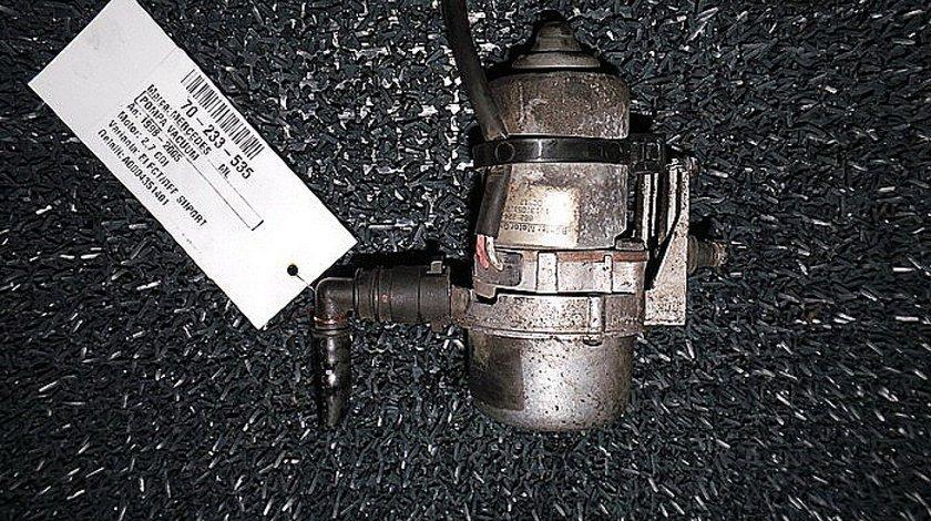 POMPA VACUUM MERCEDES-BENZ M-CLASS (W163) ML 320 (163.154) benzina (1998 - 02-2005-06)