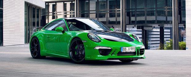 Porsche 911 Carrera 4S, preparat de nemtii de la TechArt