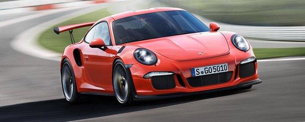 Porsche 911 GT3 RS vine echipat cu anvelope MICHELIN Pilot Sport Cup 2