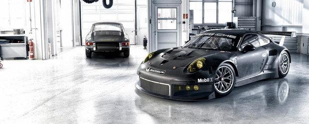 Porsche 911 RSR in 12 imagini memorabile