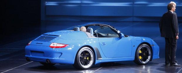 Porsche 911 Speedster este cocosatul de la Paris Motor Show