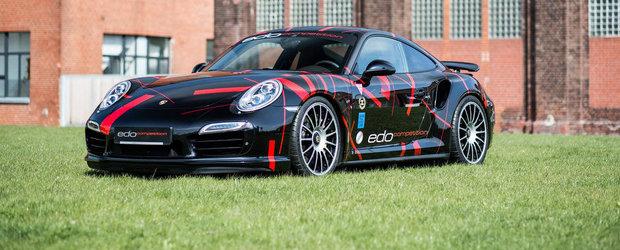 Porsche 911 Turbo S by Edo: Un tuning mic, cu rezultate mari