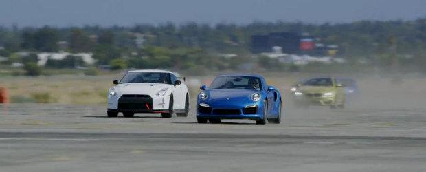 Porsche 911 Turbo S castiga Cea mai tare cursa de drag din lume (editia 2014)