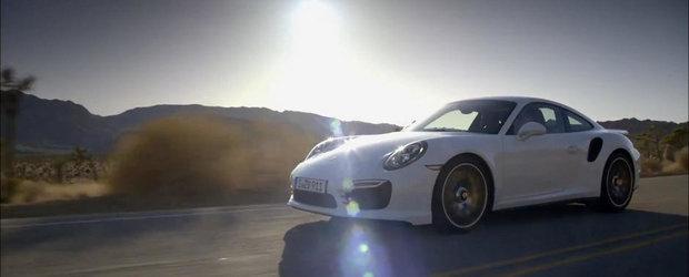 Porsche 911 Turbo S isi face aparitia intr-un nou promo oficial