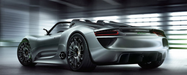 Porsche 918 Spyder Concept intra in productie!