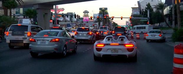Porsche 918 Spyder debarca in Las Vegas pentru un ultim set de teste