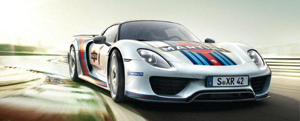 Porsche 918 Spyder isi incearca norocul la Nurburgring, reuseste un impresionant 7:14