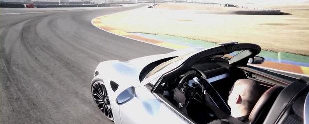 Porsche 918 Spyder ne invita la o portie de drifturi in cel mai nou test de la Chris Harris