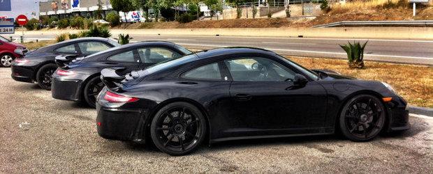 Porsche 991 GT3 - Cele mai clare imagini de pana acum!