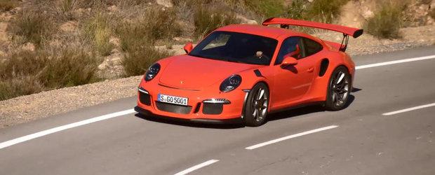 Porsche 991 GT3 RS ne incanta simturile cu o noua aparitie provocatoare