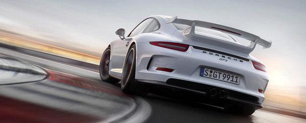 Porsche 991 GT3 RS vine anul viitor, renunta la cutia manuala si trece la PDK
