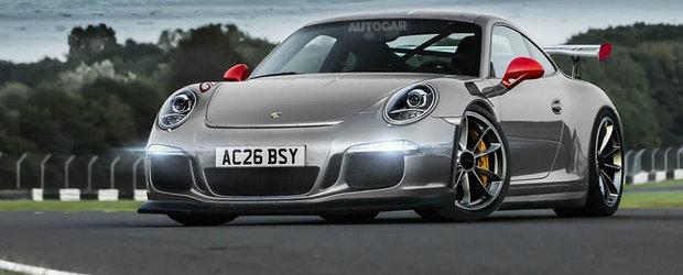 Porsche 991 GT3 RS vine la Geneva cu un motor aspirat de 4.0 litri si 500 CP