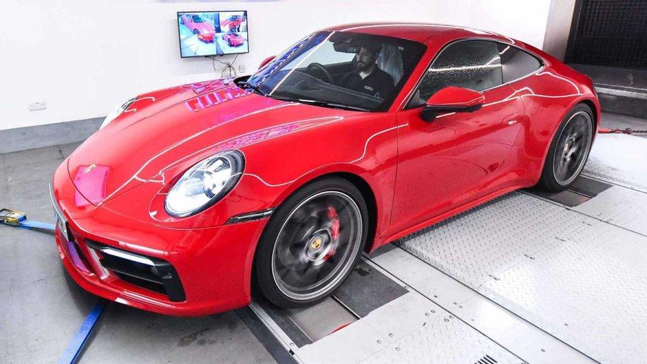 Porsche 992 de la Litchfield