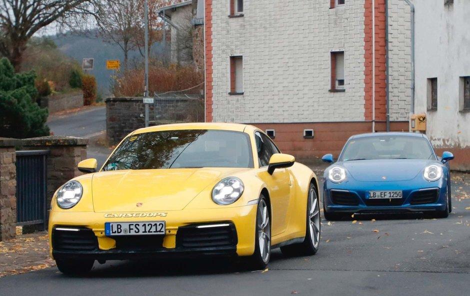 Porsche 992 versus Porsche 991