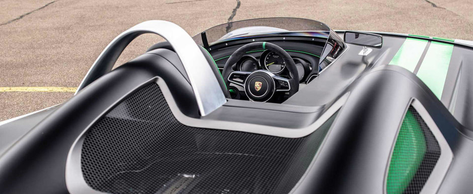 Porsche a construit in 2015 un BOXSTER cu un singur loc si fara plafon. Ce s-a intamplat cu masina
