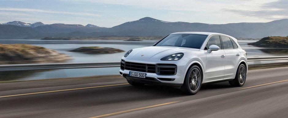 Porsche a lansat noul Cayenne Turbo, SUV-ul cu performante de masina sport: V8 de 550 de cai si suta in 3.9 secunde