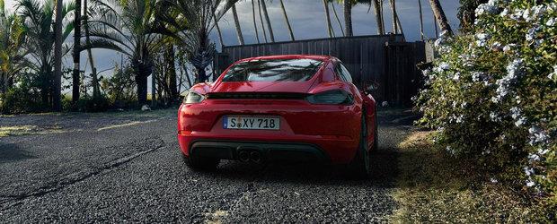 Porsche a montat pe aceasta masina cel mai puternic motor in patru cilindri pe care il are Grupul Volkswagen