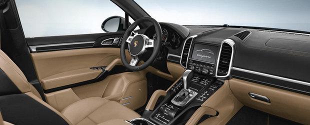 Porsche anunta noul Cayenne Platinum Edition