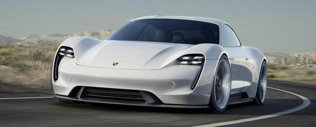 Porsche anunta o versiune de serie a conceptului Mission E