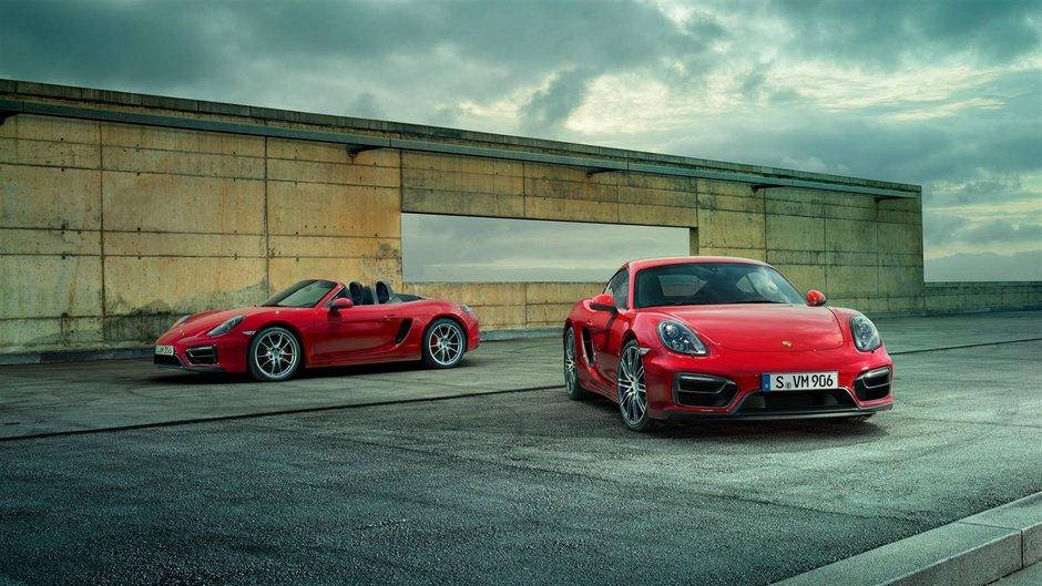 Porsche Boxster si Cayman GTS