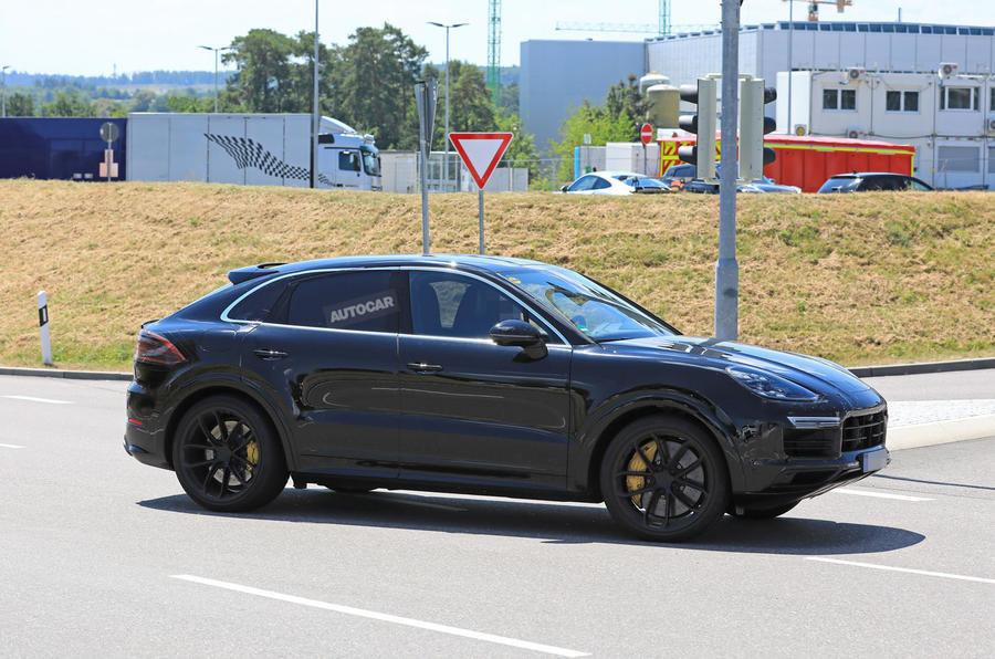 Porsche Cayenne Coupe - Poze Spion