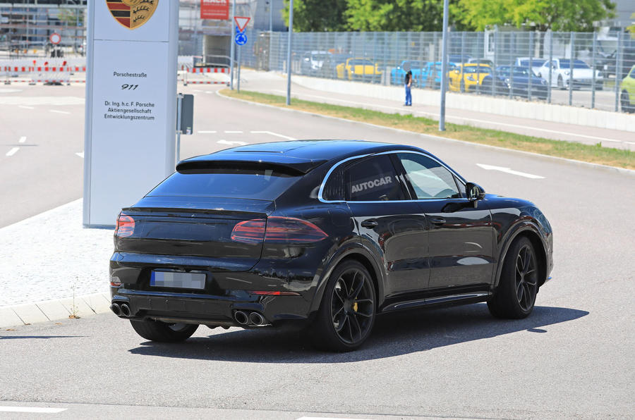 Porsche Cayenne Coupe - Poze Spion - Porsche Cayenne Coupe - Poze Spion