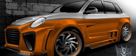 Porsche Cayenne Megatron , in premiera la 4Tuning Days